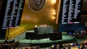 Votação dos membros rotativos do Conselho de Segurança da ONU