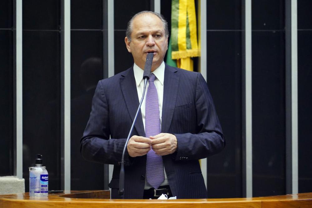 Ricardo Barros em sessão da Câmara dos Deputados