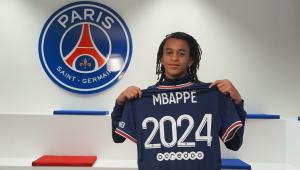 Irmão caçula de Kylian Mbappé, Ethan tem 15 anos e assinou com o PSG até 2024