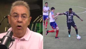 Flavio Prado criticou o Corinthians após multa a Jô por chuteira verde