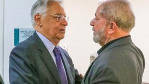 Ex-presidentes Lula e FHC