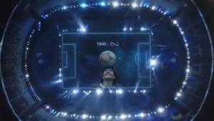 Diego Maradona é homenageado na Copa América