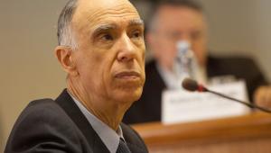 Foto de perfil do ex-vice-presidente da república, Marco Maciel