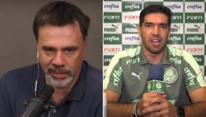 Mauro Beting criticou Abel Ferreira após empate do Palmeiras com o Corinthians