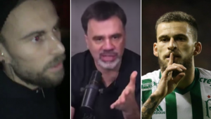 Mauro Beting criticou Lucas Lima por ter ido a uma festa clandestina