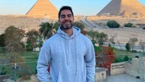 Médico publicou foto durante viagem ao Egito