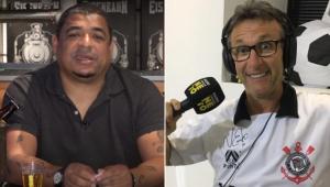 Vampeta falou sobre a possibilidade de Neto assumir a presidência do Corinthians