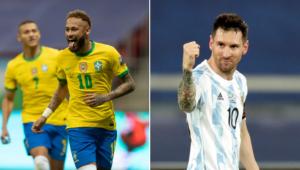 Neymar e Messi são os dois jogadores mais caros da Copa América