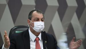 O presidente da CPI da Covid-19, Omar Aziz