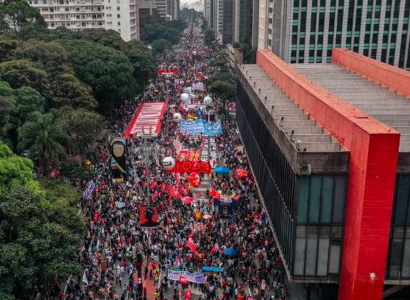 Manifestação contra o governo em São Paulo