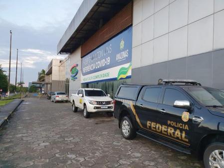 Governo do AM é alvo de operação da Polícia Federal sobre desvio de recursos no combate à pandemia