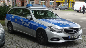carro da polícia da alemanha