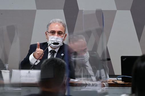 CPI da Covid-19 aprova nova convocação de Marcelo Queiroga
