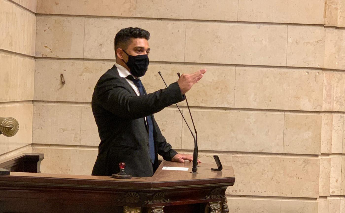 Vereador Gabriel Monteiro