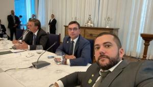 Encontro com presidente no Palácio da Alvorada