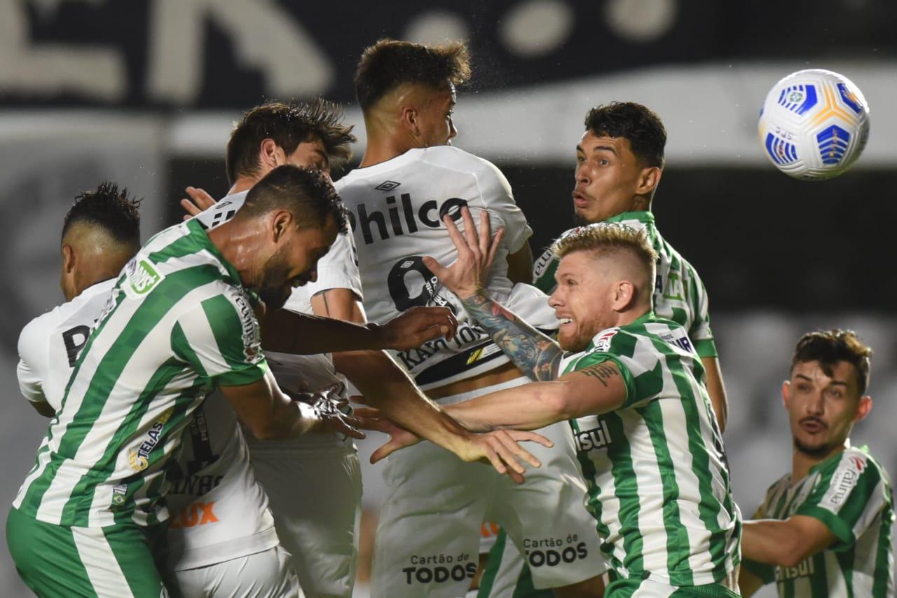 Santos e Juventude empataram sem gols pelo Brasileirão