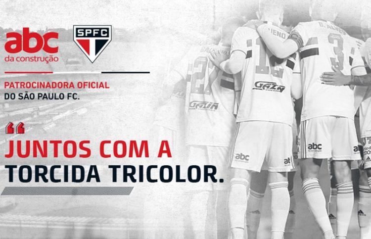 São Paulo anunciou novo patrocinador