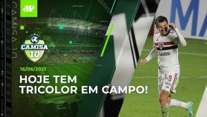 São Paulo JOGA HOJE e tenta a 1ª VITÓRIA no Brasileirão!   CAMISA 10 - 16/06/21