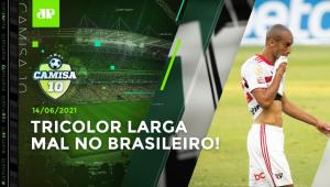 São Paulo PERDE MAIS UMA e segue sem NENHUM GOL no Brasileirão!   CAMISA 10 - 14/06/21