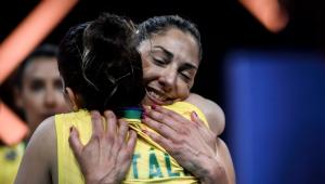 A seleção feminina de vôlei foi derrotado na final da Liga das Nações