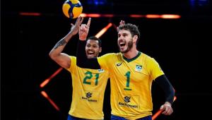 A seleção masculina de vôlei está na semifinal da Liga das Nações