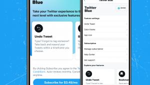"Twitter lança recurso pago chamado ""Twitter Blue"""
