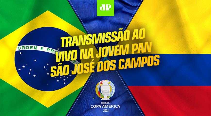 Copa América 2021 é aqui na Jovem Pan SJCampos