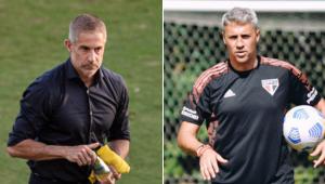 Sylvinho e Crespo vão se reencontrar em Corinthians x São Paulo após 20 anos
