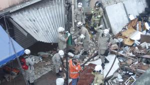 Desabamento de prédio em Rio das Pedras, Rio de Janeiro