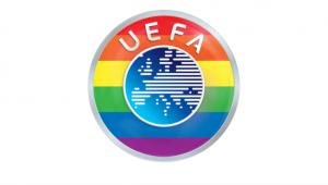 Uefa usou as cores do arco-íris em seu logo após polêmica