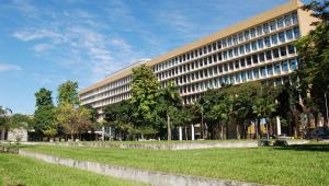 Fachada do prédio da Universidade Federal do Rio de Janeiro