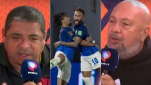 Vampeta e Nilson Cesar criticaram os jogadores da seleção brasileira por manifesto contra a Copa América