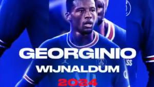 Wijnaldum acertou com o PSG até 2024