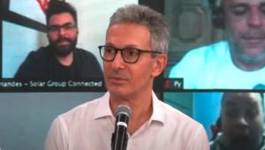 Romeu Zema concede entrevista ao Pânico