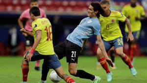 Uruguai e Colômbia se enfrentaram nas quartas da Copa América