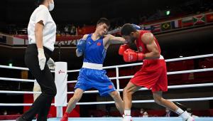 Hebert Conceição está nas quartas de final do boxe até 75 kg das Olimpíadas de Tóquio