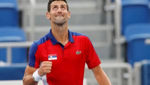 Novak Djokovic está nas quartas de final da Tóquio-2020