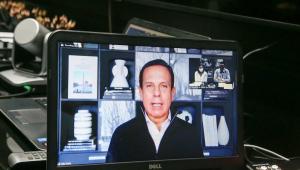 O Governador do Estado de São Paulo, João Doria, participa virtualmente de Apresentação do Time São Paulo para as Paralimpíadas