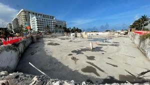 terreno de prédio que desabou