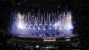 Cerimônia de abertura dos Jogos Olímpicos de Tóquio tem queima de fogos