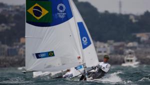 Robert Scheidt mantém vivo o sonho por mais uma medalha em Olimpíada