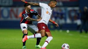 O Fluminense venceu o Cerro por 2 a 0 nas oitavas da Libertadores