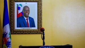foto do presidente assassinado do Haiti