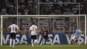 Benedetto marcou para o Arsenal de Sarandí em empate com o São Paulo por 1 a 1, na Libertadores de 2013