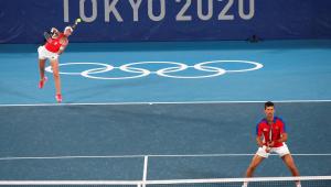 Djokovic está em busca de duas medalhas nas Olimpíadas de Tóquio