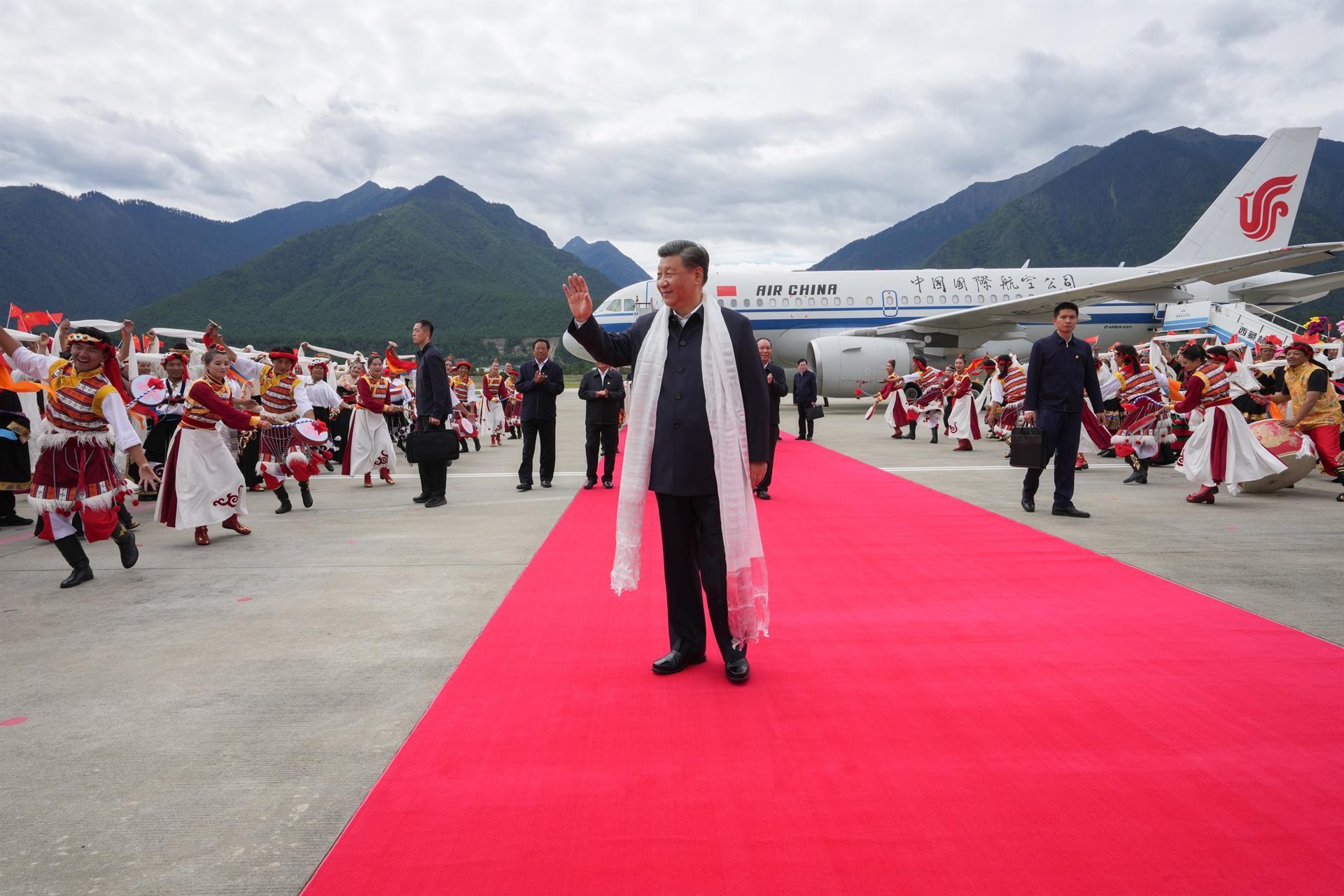 Xi Jinping no Tibete