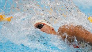 Larissa Oliveira não passou para a semifinal dos 100 m livre feminino na Tóquio-2020