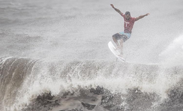 Ítalo Ferreira foi medalha de ouro no surfe na Olimpíada de Tóquio