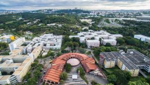 Imagem aérea da Universidade Federal de Minas Gerais