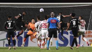 Alerrandro marcou para o RB Bragantino contra o São Paulo em confronto válido pelo Brasileirão